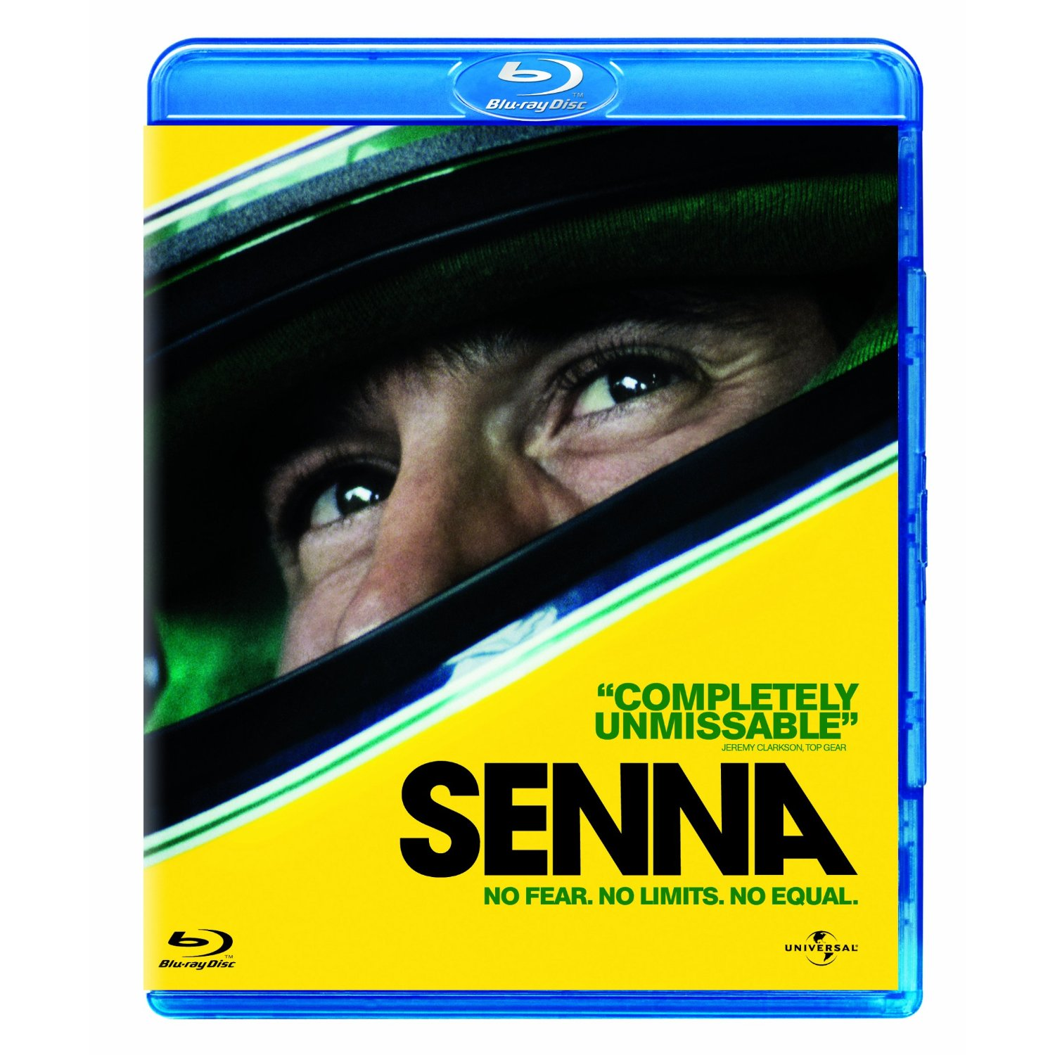 Senna Blu-ray Brand New Sealed [Region Free]